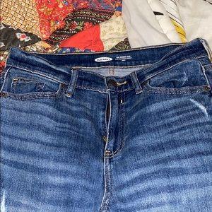 "NWOT Old Navy ""Mom"" Jeans"